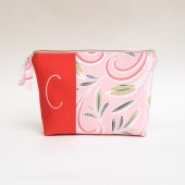 Monogram Coral Clutch Purse