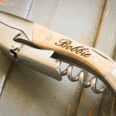 Custom Engraved Double Hinged Corkscrew