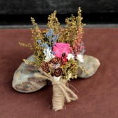 country meadow boutonniere
