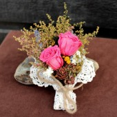 country meadow corsage