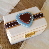 Rustic Country Ring Bearer Box
