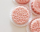 100 Solid Lotion bar Rose & Ylang Ylang - wedding favors, guest favors, Housewarming, ships worldwide
