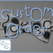 custom orders, wedding bow ties & suspenders
