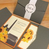 Washington DC Wedding Invitation