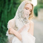Style 510 - French Lace Bridal Veil by SIBO Designs