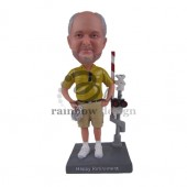 Straight Shooter Guy Custom Bobblehead