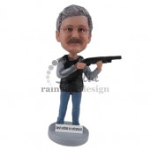 Shooting Guy Custom Bobblehead