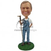 Farmer Bill Custom Bobblehead