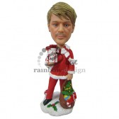 Santa Impersonator Custom Bobblehead