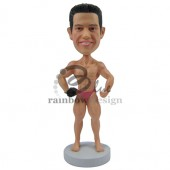 Body Builder Custom Bobblehead