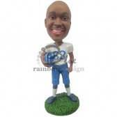 College Football Player Custom Bobblehead