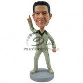 John Travolta Wanna Impersonator Custom Bobblehead