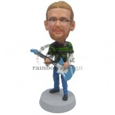 Rock and Roller Fan Custom Bobblehead