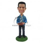 Classic Football Lover Custom Bobblehead