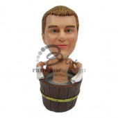 Guy in Hot Tub Custom Bobblehead