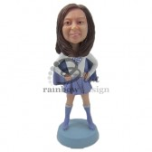 Super Cool Girl Custom Bobblehead