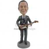 The Guitar Player Custom Bobblehead
