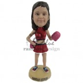 High School Cheerleader Custom Bobblehead