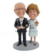 Father and Mother of the Bride Custom Bobbleheads