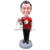 Big Bang Theory Fan Custom Bobblehead