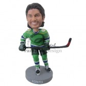 Ice Hockey Player Custom Bobblehead