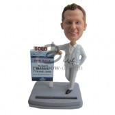Male Real Estate Agent Custom Bobblehead