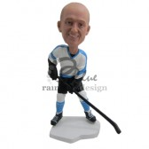 Male Ice Hockey Fan Custom Bobblehead