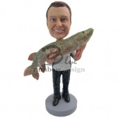That's a Catch Fisherman Custom Bobblehad