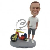 Hot Wheels Lover Dude Custom Bobblehead