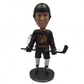 Ice Hockey Fan Custom Bobblehead