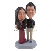 Prom Couple Custom Bobblehead