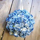 DIY Flower Ball Kit - Includes 75 Flowers & Supplies