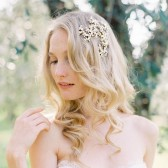 Style 501 - Floral Bridal Hair Comb by SIBO Designs
