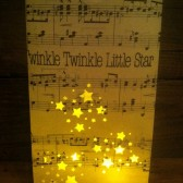 Twinkle Twinkle Little Star Luminary