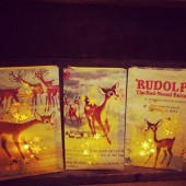 Rudolph Luminary Bags