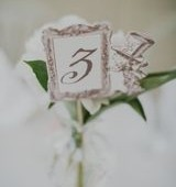Alice in Wonderland Table Number