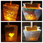 Unique Escort Card Luminaries