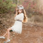 winter flower girl dress