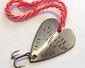 Personalized Fishing Lure Ornament