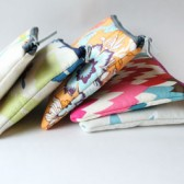 Cosmetic Bag Zipper Pouch Set, Bridesmaid Gift