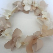 Champagne Floral Crown