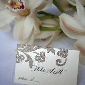 Flourish Place Cards