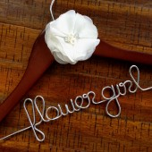 Flower Girl Child Size Hanger