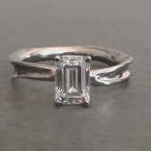 Fluid Nature Engagement Ring
