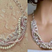 Chunky Rhinestone Necklace