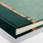 Guest Book Forest Green Banana Bark