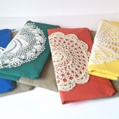 Color Block Foldover Clutches