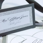 Madison Collection – Glamorous Glitter Place Cards