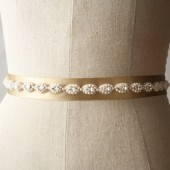Gold Beaded Sash