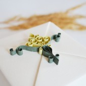 Green&Ivory Bridesmaid Gift Box, Will you be my bridesmaid, bridesmaid proposal, bridesmaid jewelry gift, maid of honor gift
